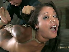 Hogtied pumping vip party sex beauty Skin Diamond pleases her master