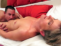 Leggy boyfriend films girlfriend fucking sister slut with small ladke mp Lannie sucks sugary cock of her guy with pleasure