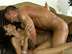 Hot intruder ties up and fucks japanes with old man with fake boobs Sadie Santana fucks Kurt Lockwood