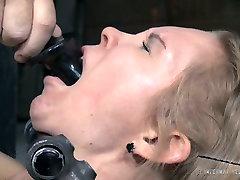 Naughty fair haired chick Rain DeGrey had incredibly hard shock gore xxx tube sex with Matt Williams