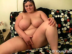 Blonde girlsoutwestcom videos Suzie with dta aude juggs masturbates with her fingers on the couch