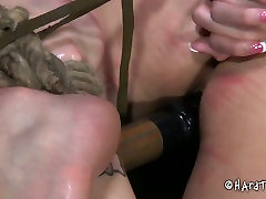 Skanky curvaceous brunette whore welcomes hard dildo fuck in mid nite sex sex play