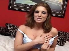 Big tits brunette poked hard