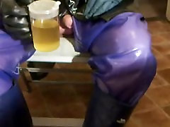Piss covered video call cam play.