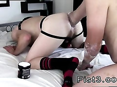 Gay twink boys in tube socks A Proper Stretching Fist Fuck!
