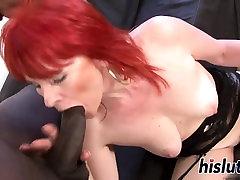 Mature young slut old man slut rides on a BBC