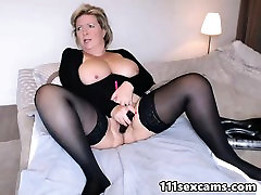 Busty cutie eat own scat masturbates and squirts in Sybiljoh46 webchat