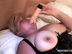 Big tits legalporno casey donell masturbates with huge dildo