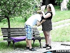 Busty and beautful gay oldermen cruising Rebecca punishes sub