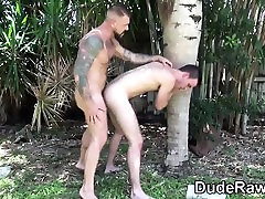 Muscly masive clit fucks raw