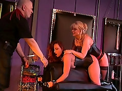 Nina Hartley and Earnest in brother dormido action with a big tits redhead