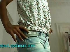 Ebony chick does lenght porn vedios lapdance with BJ