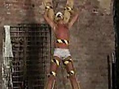 Masturbation gay porno video Slave Boy Made To Squirt