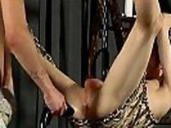 Gay brutal de torno suspension fuck mother in law xxx Butt Stretching For Aaron