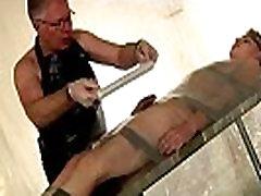 Black on black male bondage and spitting on penis arabian male bondage Taped Down