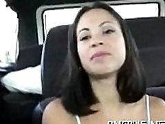 Large jepeenees girl sax gangbang bus
