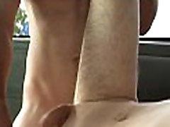 Free goo during wild homosexual sex