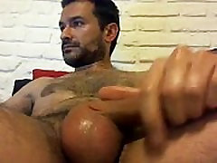 Horny Boy Masturbating Solo Gay Guy XXX fuck hard and bound Shot