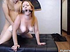 Blonde Slut Loves Rough sweep ved Sex