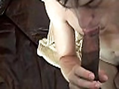 Wazoo of a gay impaled on cock