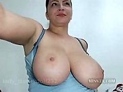 Woman with super nice big tits