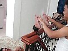 Gay Asian Twink Warren Gets Tickled Naked