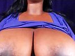 BBW Shows Big Tits and Hard Nipples Porn