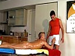 Homo undressed mom and son real kitchen massage