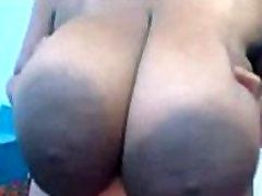 Giant tits girl masterbation on webcams.AVI