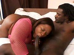 Ebony baby 59 gets some bbc