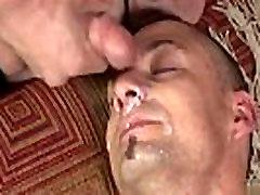 Hot male cumshot gay Bareback after bareback, his juicy crevice was