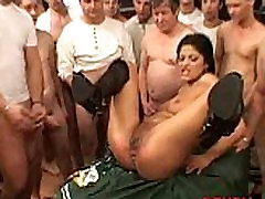 slut young step mom massage by 50 guys! 096