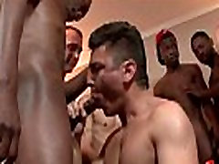 Bukkake Boys - Gay guys get covered in loads of hot cum 09