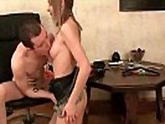 Teen practices bondage