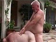 Gay bears hammering their fat asses bath for every boys