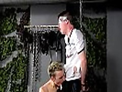 Gay porn The spectacular dark haired stud is stringing up and