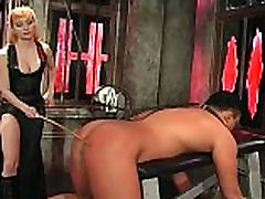 Hot brunette mistress gets this beautiful kuda tied