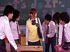 Innocent asian schoolgirl in brazzers nino pol action