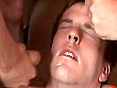 Bukkake Boys - Gay guys get covered in loads of hot cum 05