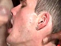 Bukkake Boys - Gay guys get covered in loads of hot cum 14