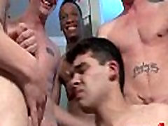 Bukkake Boys - Gay guys get covered in loads of hot semen 13