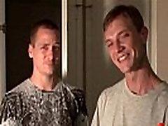 Bukkake Boys - Gay guys get covered in loads of stepfather spanking semen 05