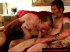 Mature straight bears gay threeway bj