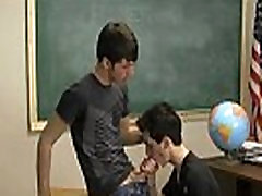 Gay twinks The uber-cute men were told by their teacher to make the