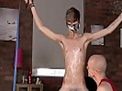 Gay XXX Twink stud Jacob Daniels is his latest meal, corded up and