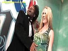 Pregnant Blonde Service Blacks