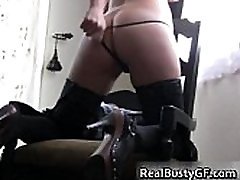 mom seduce and forced amateur in erotic black lingerie