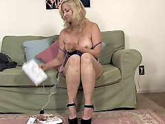 My Lovely Grannies 04 4Masturbation with Electric Stuff