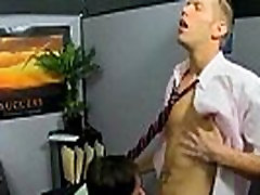 Horny small pussy big lips hunk sucking a cock at the office