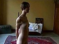 Hot pretty girl dominated in extreme cumshot voyie sex